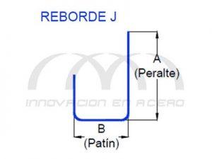 Geometría de Reborde J para Tablaroca