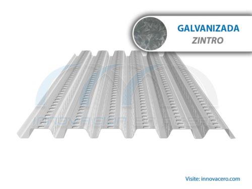Lámina Acanalada Losacero 15 Galvanizada (Zintro) Ternium