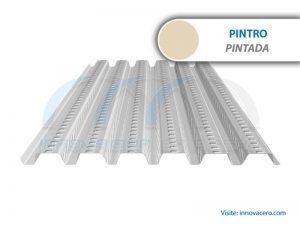 Lámina Acanalada Losacero 15 Pintro (Pintada) Ternium