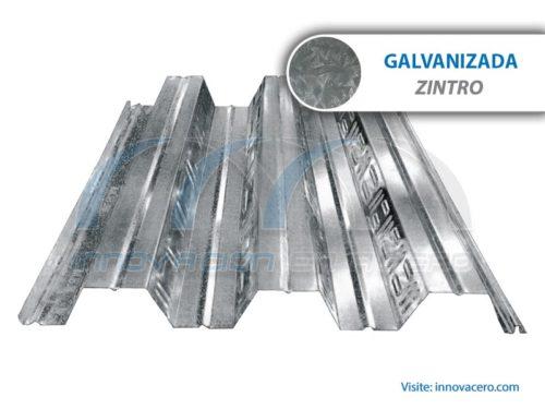Lámina Acanalada Losacero 25 Galvanizada (Zintro) Ternium