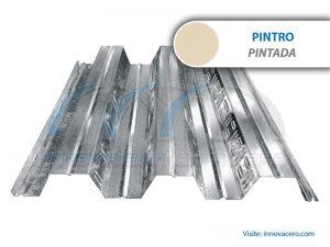 Lámina Acanalada Losacero 25 Pintro (Pintada) Ternium