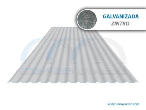 Lámina Acanalada TO-100 Galvanizada (Zintro) Ternium