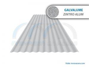 Lámina Acanalada TO-30 FH Galvalume (Zintro Alum) Ternium