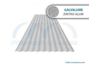 Lámina Acanalada TO-725 Galvalume (Zintro Alum) Ternium