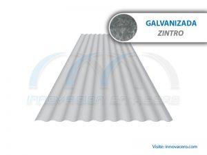 Lámina Acanalada TO-725 Galvanizada (Zintro) Ternium