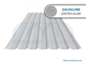 Lámina Acanalada TR 101 Galvalume (Zintro Alum) Ternium