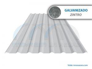 Lámina Acanalada TR 101 Galvanizada (Zintro) Ternium
