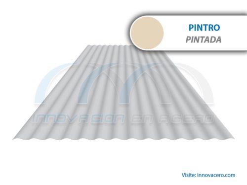 Lámina Acanalada TO-100 Pintro (Pintada) Ternium