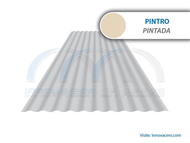 Lámina Acanalada TO-30 FH Pintro (Pintada) Ternium