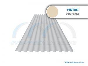 Lámina Acanalada TO-725 Pintro (Pintada) Ternium