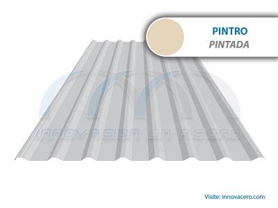 Lámina Acanalada TR 101 Pintro (Pintada) Ternium