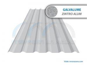 Lámina Acanalada TR-72 Galvalume (Zintro Alum) Ternium