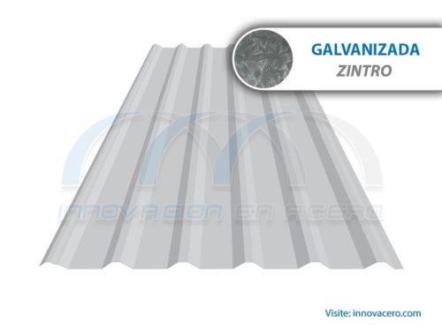 Lámina Acanalada TR-72 Galvanizada (Zintro) Ternium