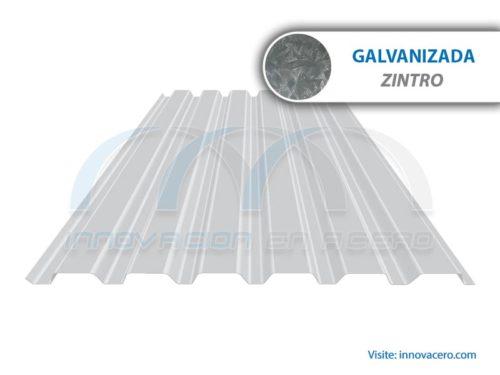 Lámina Acanalada TRD-91.5 Galvanizada (Zintro) Ternium