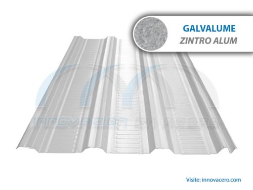 Lámina Acanalada TRN-100 Galvalume (Zintro Alum) Ternium