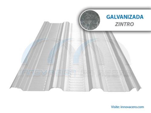 Lámina Acanalada TRN-100 Galvanizada (Zintro) Ternium