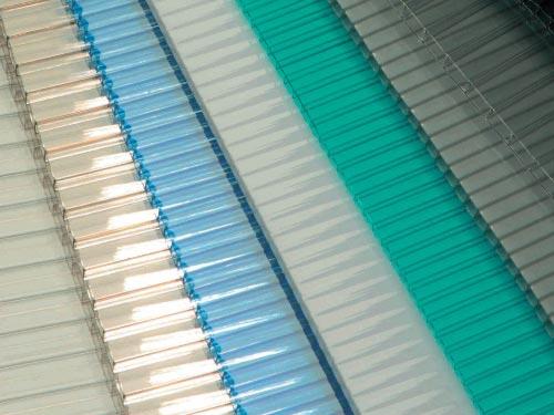 Láminas de Policarbonato Celular de colores