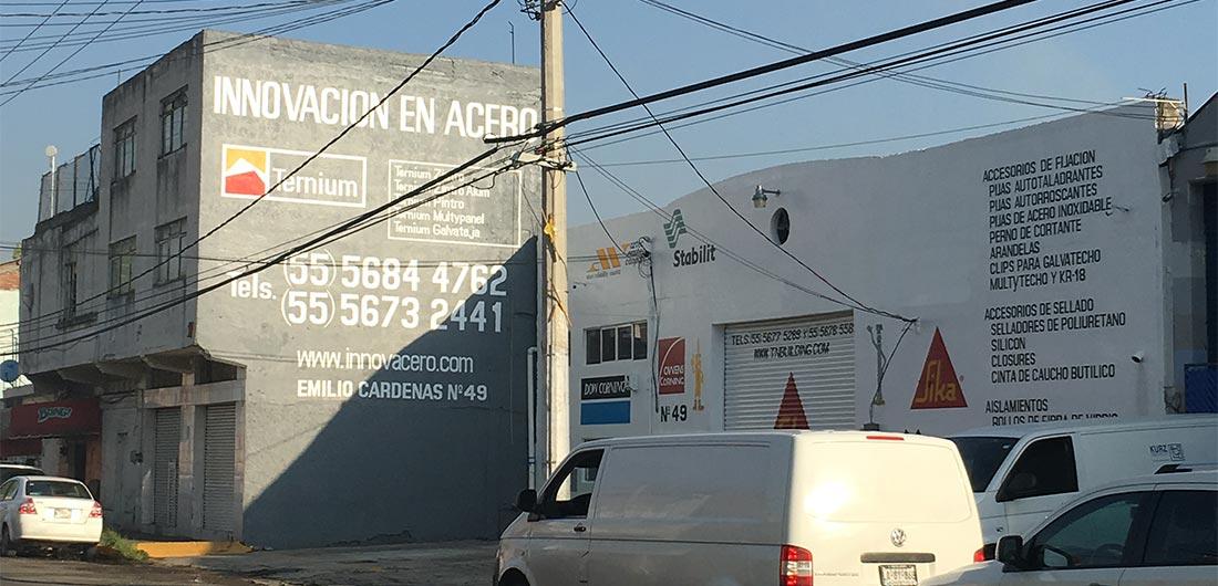 Tienda de Bodega Innovacero en Tlalnepantla, Edo. de México.
