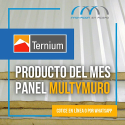 Productos del mes de Abril. Panel Aislado Multymuro