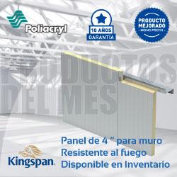 Productos del mes - Poliacryl y Kingspan