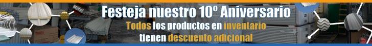 Innovacero - Ofertas de 10º aniversario - Todo el inventario con descuento adicional