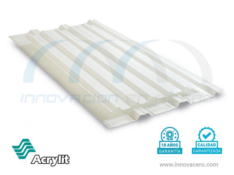 Láminas Translúcidas Acrílicas Acrylit con 18 años de garantía